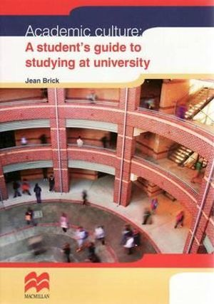 Cover of Academic Culture