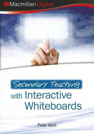 Cover of Secondary Teaching with Interactive Whiteboards plus CD