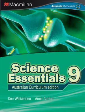 Cover of Science Essentials 9 Australian Curriculum Edition