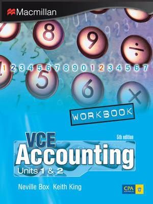 Cover of VCE Accounting Units 1 and 2 Workbook
