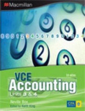Cover of VCE Accounting