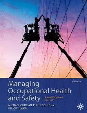 Cover of Managing Occupational Health and Safety