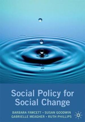 Cover of Social Policy for Social Change