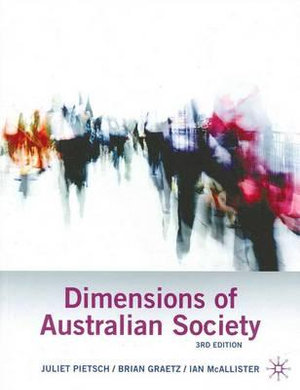Cover of Dimensions of Australian Society