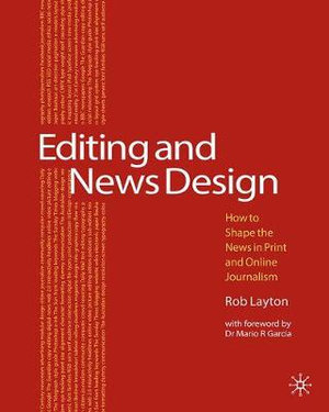 Cover of Editing and News Design