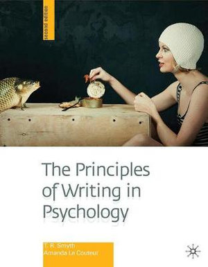 Cover of The Principles of Writing in Psychology