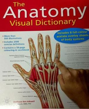 Cover of The Anatomy Visual Dictionary