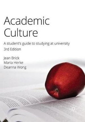 Cover of Academic Culture 3e