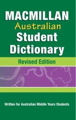 Cover of Macmillan Australian Student Dictionary