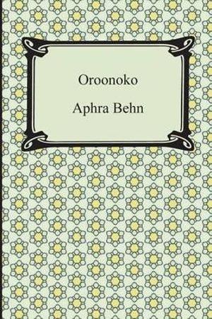 Cover of Oroonoko