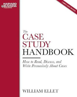 Cover of The case study handbook