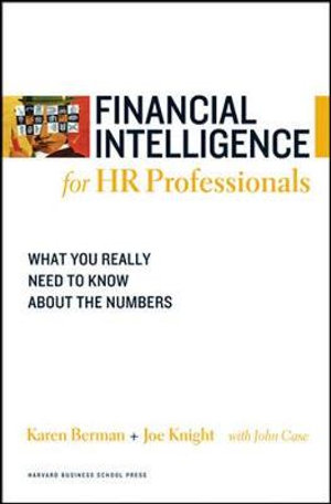 Cover of Financial Intelligence for HR Professionals