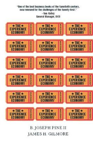 Cover of The Experience Economy