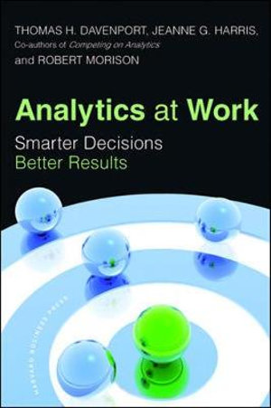 Cover of Analytics at Work