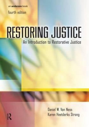 Cover of Restoring Justice