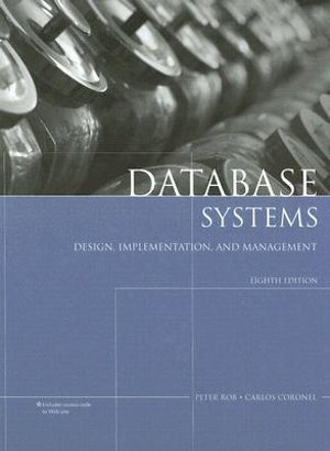 Cover of Database Systems: Design, Implementation, and Management