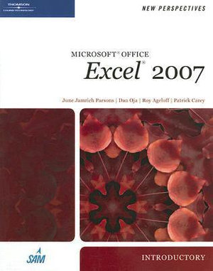 Cover of New Perspectives on Microsoft Office Excel 2007, Introductory