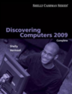 Cover of Discovering Computers 2009: Complete