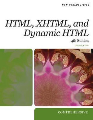 Cover of New Perspectives on HTML, XHTML, and Dynamic HTML: Comprehensive