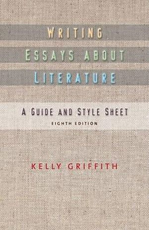 Cover of Writing Essays About Literature