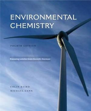 Cover of Environmental Chemistry