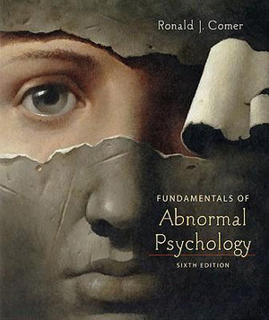 Cover of Fundamentals of Abnormal Psychology