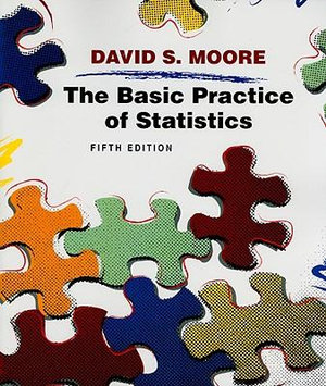 Cover of The Basic Practice of Statistics and CD, 5th edition