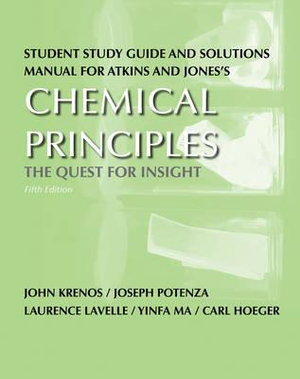 Cover of Study Guide for Chemical Principles