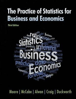 Cover of The Practice of Statistics for Business and Economics