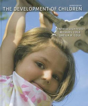 Cover of The Development of Children