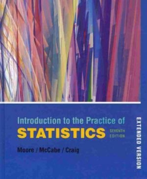 Cover of Introduction to the Practice of Statistics and CD