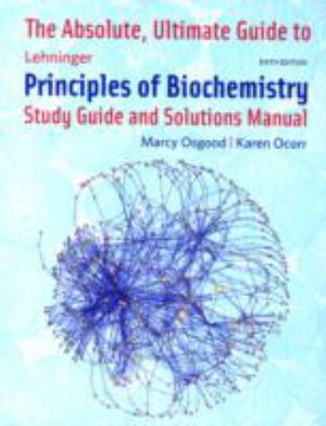 Cover of Absolute Ultimate Guide for Lehninger Principles of Biochemistry