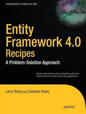 Cover of Entity Framework 4.0 Recipes