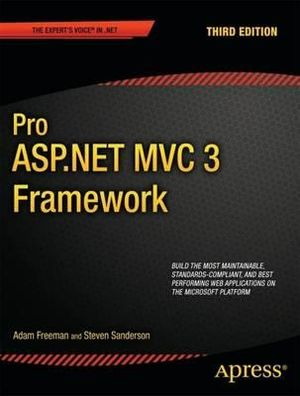 Cover of Pro ASP.NET MVC 3 Framework