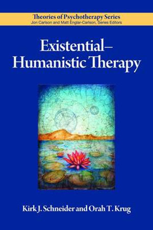 Cover of Existential-humanistic Therapy