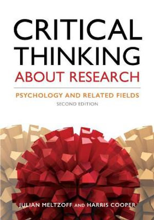 Cover of Critical Thinking about Research