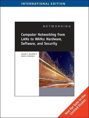 Cover of Computer Networking from LANs to WANs