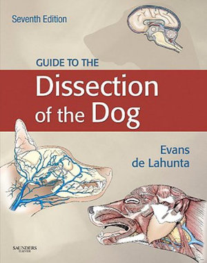 Cover of Guide to the dissection of the dog
