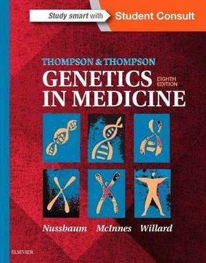 Cover of Thompson & Thompson Genetics in Medicine