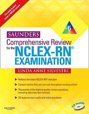 Cover of Saunders Comprehensive Review for the NCLEX-RN Examination