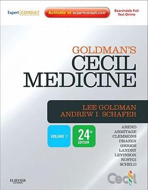 Cover of Goldman's Cecil Medicine,Expert Consult Premium Edition -- Enhanced Online Features and Print, Single Volume,24