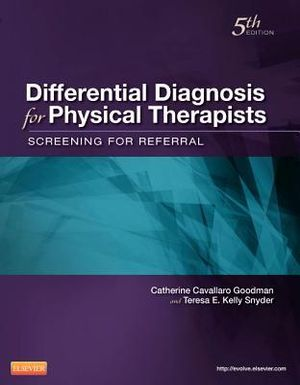 Cover of Differential Diagnosis for Physical Therapists