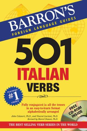Cover of 501 Italian Verbs