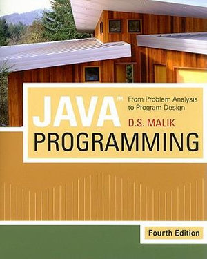 Cover of JavaTM Programming: From Problem Analysis to Program Design