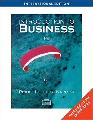 Cover of Introduction to Business