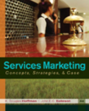 Cover of Services Marketing: Concepts, Strategies, & Cases
