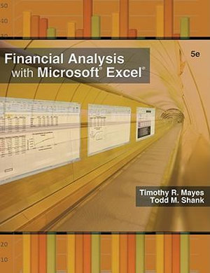 Cover of Financial Analysis with Microsoft Excel 2007