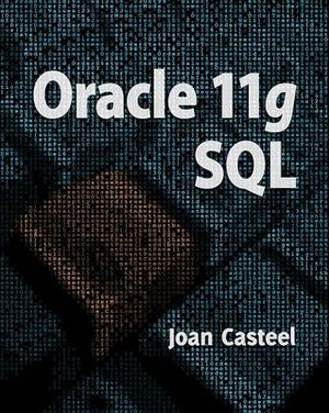 Cover of Oracle 11G : SQL