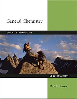 Cover of Guided Explorations in General Chemistry