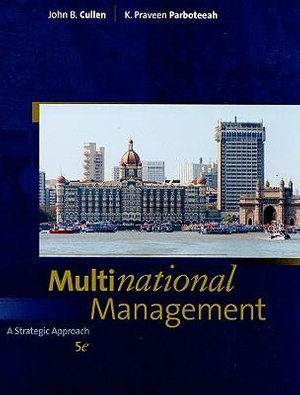 Cover of Multinational Management